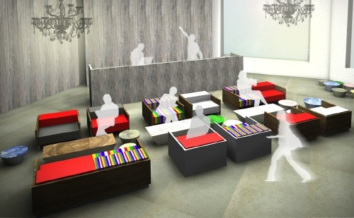 Choe Jeong-hwa's design for the interior of the KCCUK