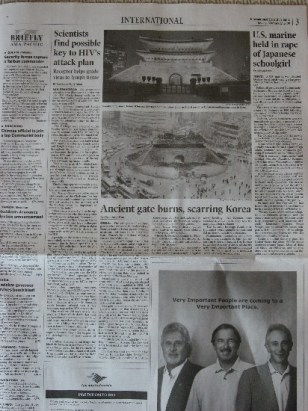 International Herald Tribune, page 3