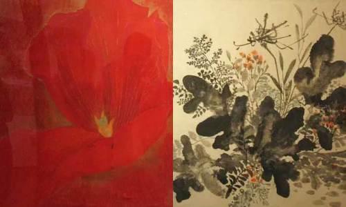 Two Flower painters: Ha Yeonsoo, Koo Bona