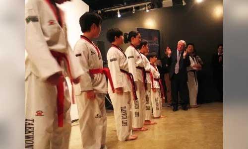 TKD Taekwondo boys