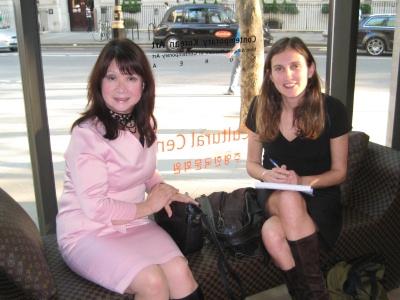 Dr Hyun-key Kim Hogarth (left) and Jennifer Barclay