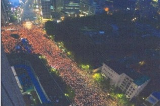 Seoul candle-light protests (from press pack)
