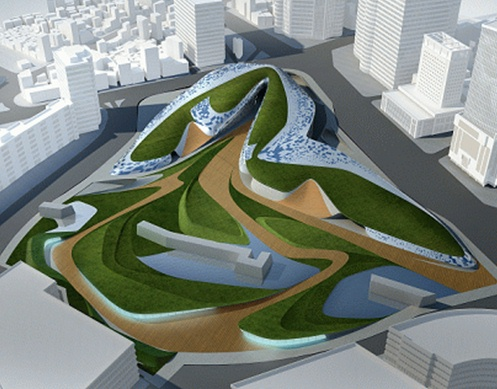 World Design Plaza, designed by Zaha Hadid