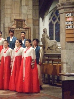 Suwon Civic Chorale and psalm 91