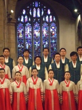 Suwon Civic Chorale in Kingston Parish Church