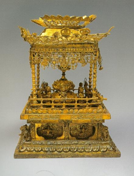 The Sarira casket