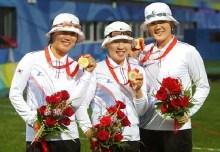 The women's archery team