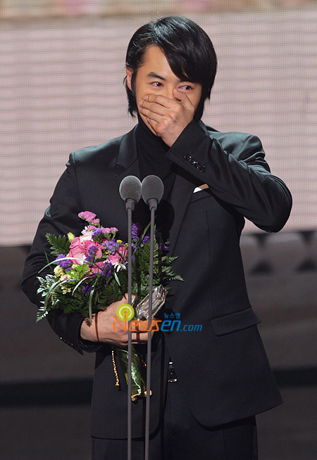 Jun Jun at the MBC awards