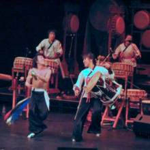 Dulsori dancing drummers