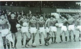 The North Korean team in 1966