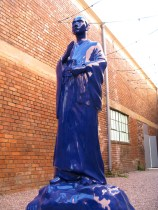 Yee Sookyung, The Very Best Statue, Liverpool, UK Version, 2008, Cast resin, car spray paint
