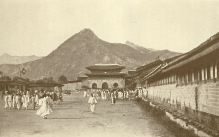 Gwanghwamun in the late Joseon dynasty