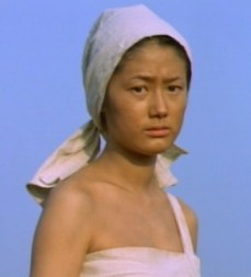 Shim Eun-ha as a Haenyo in Park Kwang-su's 1999 film Uprising, set in 1901