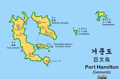 Port Hamilton Map