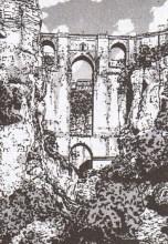 Really Ronda? The entrance to the warrior city of Fayon, somewhere near Malaga