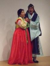 Kim Kyung-hee (left) and Jang Ji-hyun as Chunhyang and Mongryong