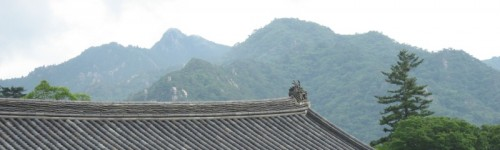 Haeinsa temple roof