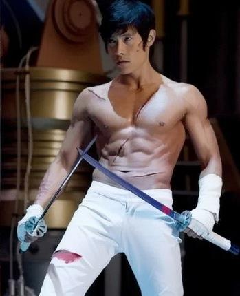 Lee Byung-hun as Storm Shadow in GI Joe