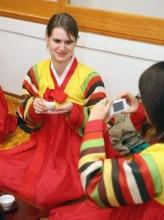 Anna in Hanbok