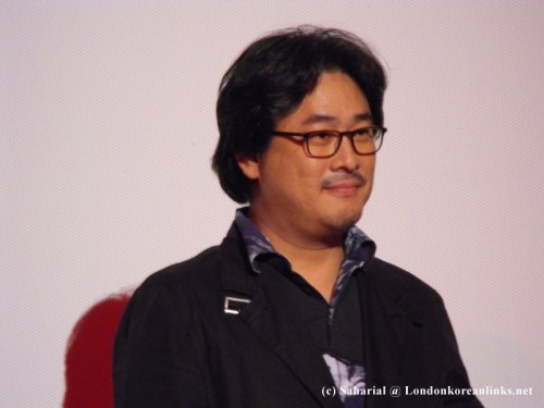 Park Chan-wook at the Curzon Soho, 5 October 2009