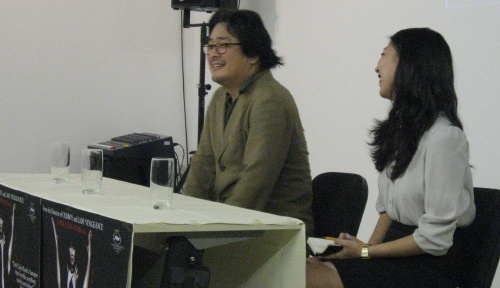 Park Chan-wook at the Mr Vengeance Q&A