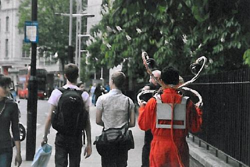 KIM Hwang: CCTV Chandelier, 2009