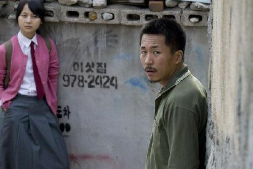 Yang Ik-june with Kim Kkot-bi