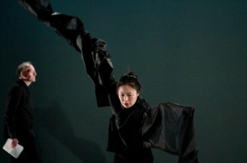 Nam Youngho rehearses Le Corps est un Visage