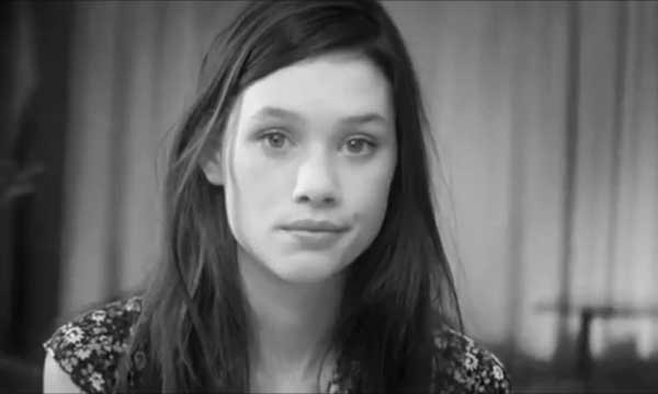 Astrid Berges-Frisbey in the French Connection campaign
