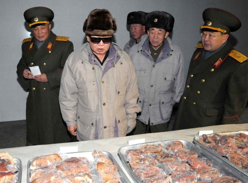 Kim Jong-il (Getty / Boston Globe)
