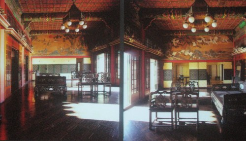 The 1920 reconstruction and redecoration of the Daejojeon in the Changdeok Palace