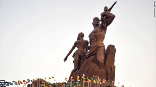 Featured image for post: New North Korean statue in Senegal