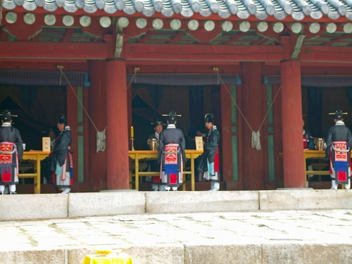 Some of the individual shrines
