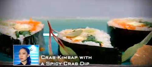 Judy Joo's Crab Kimbap