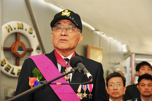 Vice-admiral (retd) Ham Myung-soo