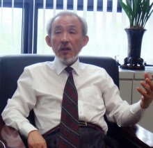 Yoo Gill Chon, secretary general of the BICHE organising committee