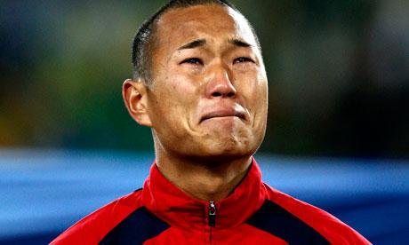 Jong Tae-se weeps