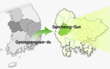 Sancheong map