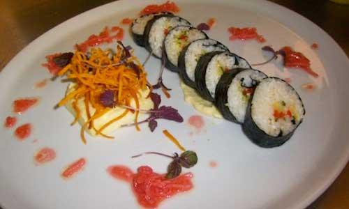 Inkun Kim's Kimbap dish