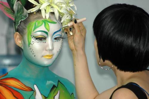 Daegu International Body Painting Festival 2010 - Photo by Chris Backe