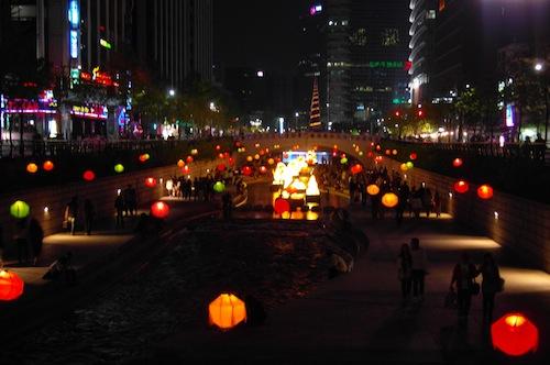 Chonggye Lights