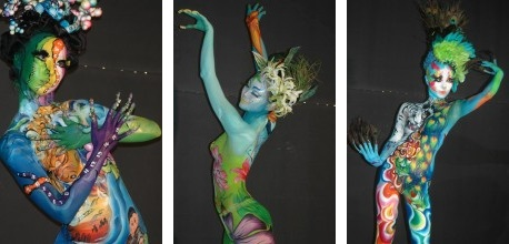 Featured image for post: Destination: Daegu International Body Painting Festival (2010) (NSFW)