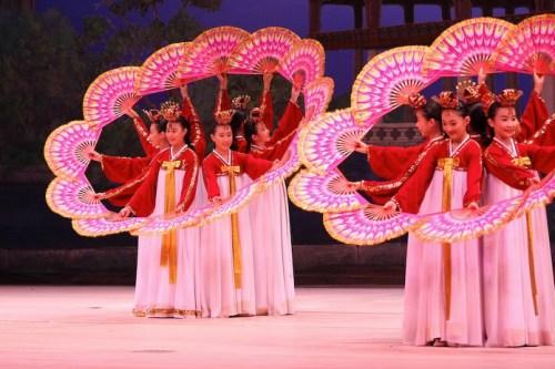 Little Angels Fan Dance