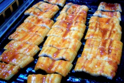 Jangeo Gui (장어 구이: grilled eel)