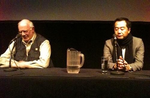 Jang Jin with Tony Rayns