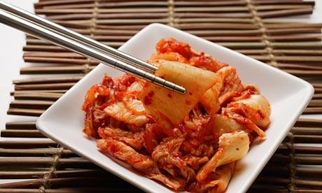 Kimchi. Photograph: Alamy
