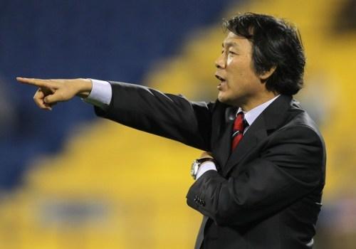 South Korea's coach Cho Kwang-Rae