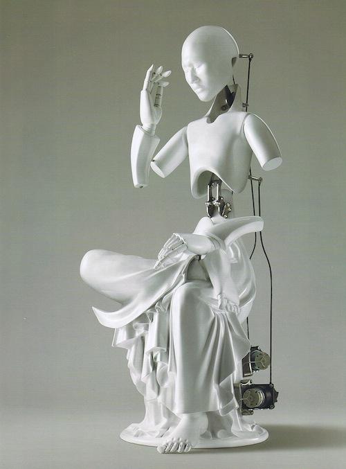 Wang Jiwon: Pensive Mechanical Bodhisattva (2010)