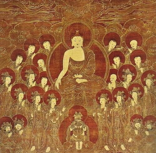 Shakyamuni and the Eight Great Bodhisattvas
