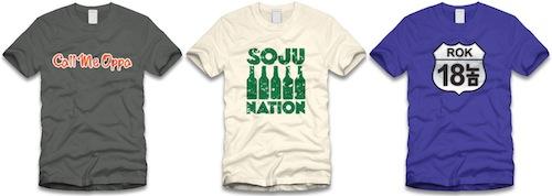 Funky Koreatowns T-shirts